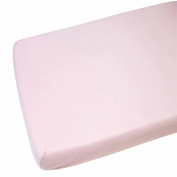 Fitted Sheet Compatible With Chicco Next 2 Me 100% Cotton - Pink-By For-Your-Little-One
