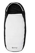 NEW QUINNY FOOTMUFF WHITE LIMITED EDITION COLOUR