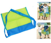 OurKosmos®Family Mesh Beach Bag Sand Toy Storage Organiser Tote Backpack Toys Towels Sand Away