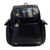 Honeymall Women's PU Leather Casual Travel Backpack Shoulder Daypack