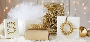 Christmas Gold Mega Beauty Hamper all individually Gift Wrapped