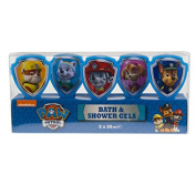 Paw Patrol 5x Bath and Shower Gels Gift Set