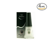 Quimica Alemana Nail Hardener 15ml (Pack Of 4) W/Free File