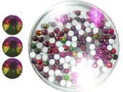 1 A Quality Rhinestones in Case Pack of 100), Size