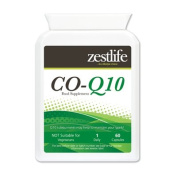 Zestlife Co-Enzyme Q10 (CoQ10) 300mg 2 x 60 Capsules High Absorption.