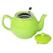 1000ml Lime Green Teapot with Stainless Steel Infuser