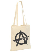 DEFENDER (Land Rover) Anarchy - Shopping reusable bag tote long handled - present gift funny