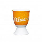 Kitchen Craft - Porcelain Egg Cup - Retro Rise