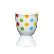 Kitchen Craft - Porcelain Egg Cup - Bright Spots