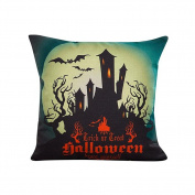 Bluester Halloween Sofa Bed Home Decoration Festival Throw Pillow Case Cushion Cover