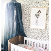 NEW Pericross® Bed Canopy for Baby Cotton Linen 290cm Around the Bottom Height 220cm