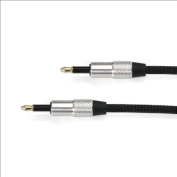 Fiio L12s, 3.5mm to 3.5mm plug optical cable 7cm Long