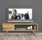 MAYA TV Lowboard / Natural Wood Colour / TV Unit - TV Stand - TV Board in modern design