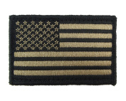 USA American Flag Tactical Patch Hook and loop Fully Embroidered Morale Tags