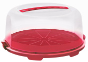 Rotho Fresh Cake Stand High Red