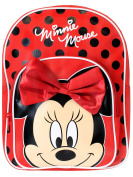 Girls Disney Minnie Mouse Bow Backpack