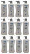 AWARD-WINNING 12 BOTTLES Ivy Silkshine DANDRUFF CARE Daily Hair Shampoo (950ml / 32 fl oz) by Leivy - Removes Dandruff and Promotes Healthy Scalp, Moisturising, Shine-Enhancing -GET IN ONE WEEK