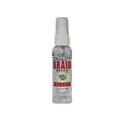 Black Queen Olive Oil Braid Spray Alcohol Free All Human and Synthetic Hair 60ml