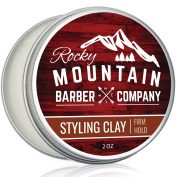 Hair Clay for Men - Moulding Cream Hair Product with Firm Hold for Shorter, Spikey Styles - Workable Shine-Free Matte Finish with Natural Plant Derived Ingredients- 60ml