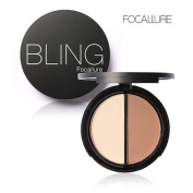 Datework Bling Focallure 2 Diff Colour Concealer Matte Powder