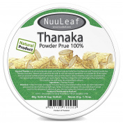 Thanaka For Face Powder - Reduces Melasma & Dark Spot Treatment - Sun Protection - Skin Whitening & Radiance Help Anti-Acne + Ageing, Acne Scars Removal, Age Spots - 100% Pure
