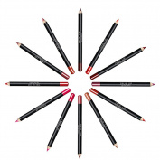 EFINNY 12PCs Lip Liner Pencil Waterproof Smooth Matte and Long Lasting Lipliner Pen Set