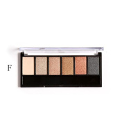 EyeShadow ,Vovotrade Retro 6 Colours Smoky Eye Shadow Makeup Makeup Kit Charming