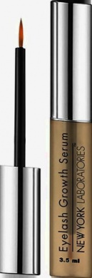 New York Laboratories Eyelash Growth Serum 3.5ml - Dermatologist Lab Tested Cutting Edge Formula for Thicker and Longer Eyelashes and Eyebrows