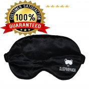 Sleeping mask for Men and Woman that blocks all lights! Perfect for Dark Circles, Insomnia, Puffy eyes, and Migraine. Get your Best Resting Sleep Now! Best sleep mask / sleeping mask