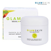 [GLAMSKIN] Papaya & Grapefruit Instant Brightening Cream 50ml / Tone up Moisturising Cream
