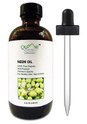 QUANE COSMETICS Organic Neem Oil | 100% Pure , Hexane Free , Cold Pressed , Combat Acne , Stretch Marks & Dry Scalp 120ml