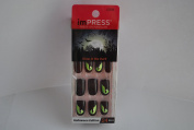 Impress Press-on Manicure Glow in the Dark Halloween Edition Nails - Gossip Ghoul