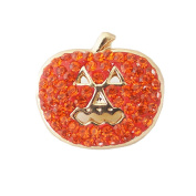 Lovmoment Halloween Pumpkin Shape with Rhinestones Snap Buttons Jewellery Charms