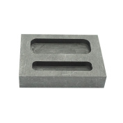 High Purity 20g 50g Combo Gold Graphite Ingot Mould Crucible for Melting Casting Refining Scrap Metal Jewellery