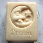 Let'S Diy Good Dream Moon Stars 3D Silicone Mould Handmade Soap Candle Moulds