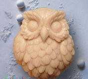 Let'S Diy Cute Owl 3D Handmade Soap Mould Silicone Candle Moulds