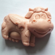 Let'S Diy Cute Funny Ox 3D Silicone Candle Moulds Handmade Soap Mould