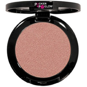 Mineral Powder Blush in Teaberry a Modern Shimmering Pinky Brown Shade That Deflects Light and Smooths Imperfections on the Skin