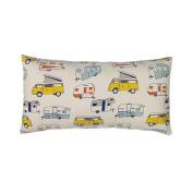 Glenna Jean Happy Camper Pillow, Rectangular