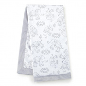 Levtex Baby Baby Ely Grey Blanket