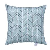 Glenna Jean Happy Camper Pillow, Blue