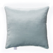 Glenna Jean Happy Camper Pillow, Solid Blue