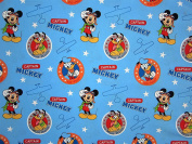 Mickey Mouse Captain Mickey (Flat Top Sheet Only) Size TODDLER Boys Girls Kids Bedding