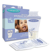 Lansinoh Breast Milk Storage Bags - 50 Count 2PC