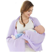 HAIXUN Multifunctional Breastfeeding Scarf, 2 in 1 Nursing Cover, Universal Fit for Infants