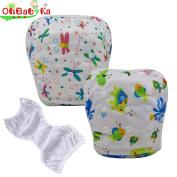 OHBABYKA Baby Swim Nappy Adjustable Unisex Reusable babies Swim Pants