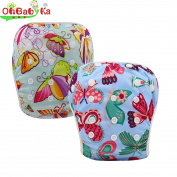 OHBABYKA Baby Swim Nappy Adjustable Unisex Reusable Swim Pants