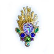 Bling Cluster - Parading Peacock