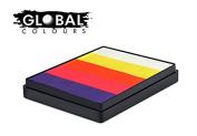Global Colours Paint - Rainbow Cake Caribbean 50gr