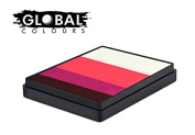 Global Colours Paint - Rainbow Cake Norway 50gr